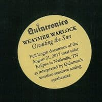 WEATHER WARLOCK Occulting The Sun Vinyl Record 12 Inch Third Man 2017